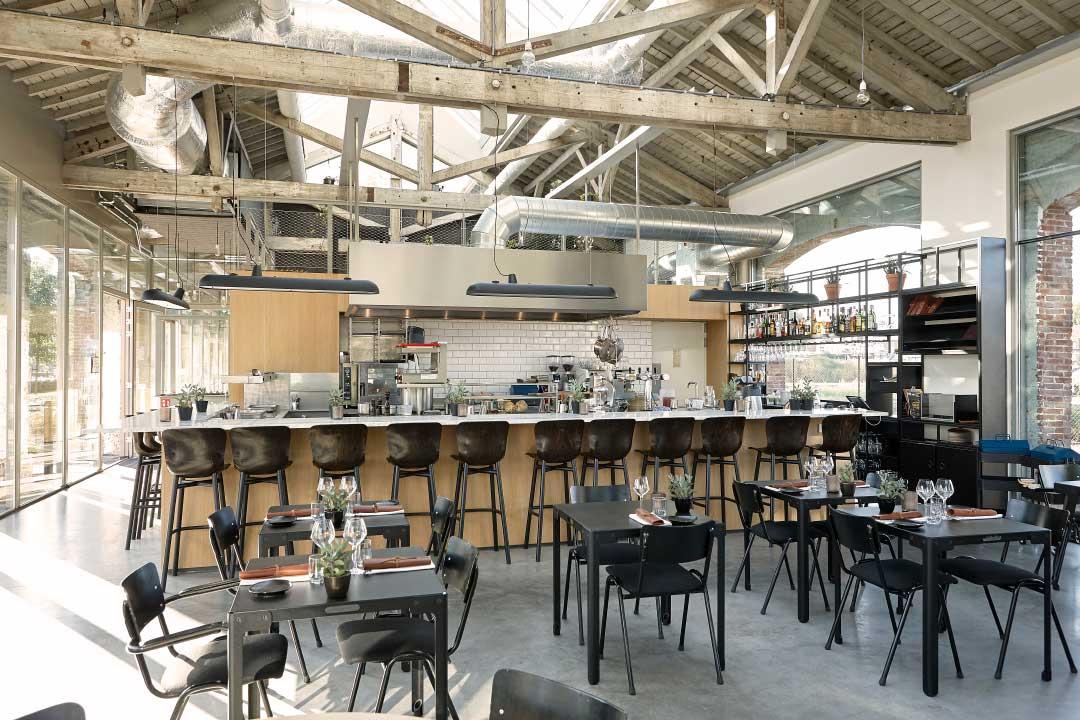 De Houtloods - restaurant keukenbar foto