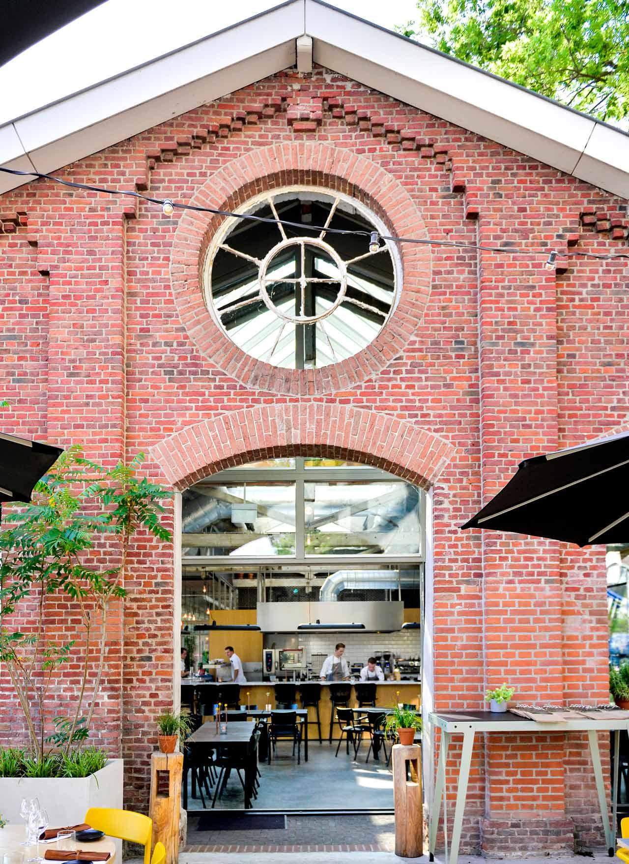 Restaurant De Houtloods - entree homepage