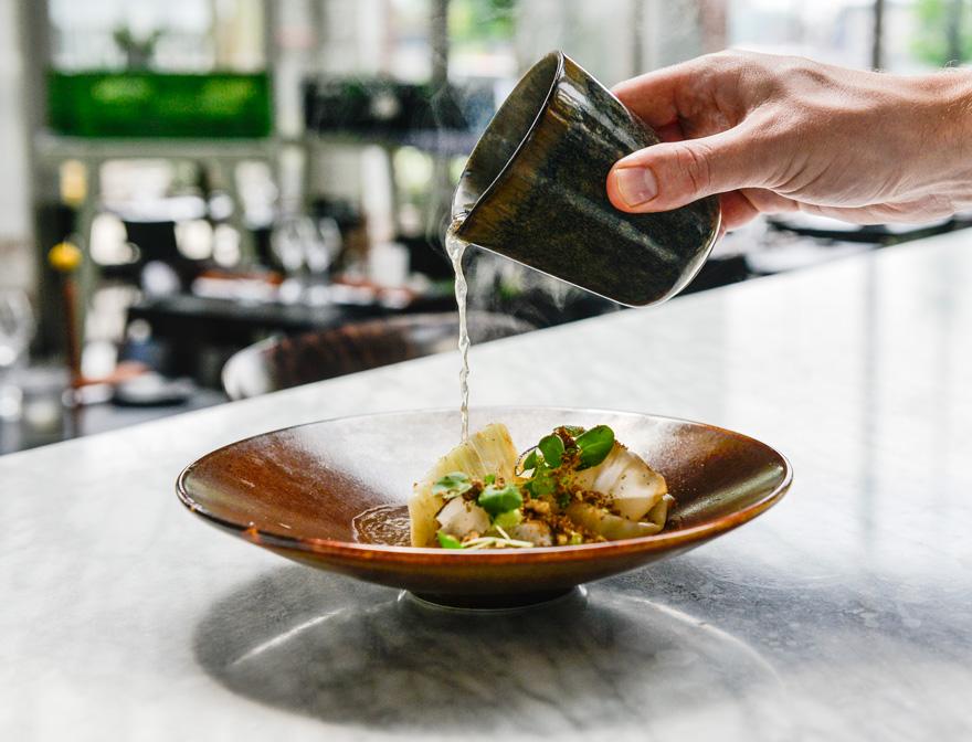 Restaurant De Houtloods - foto van gerecht - menukaart
