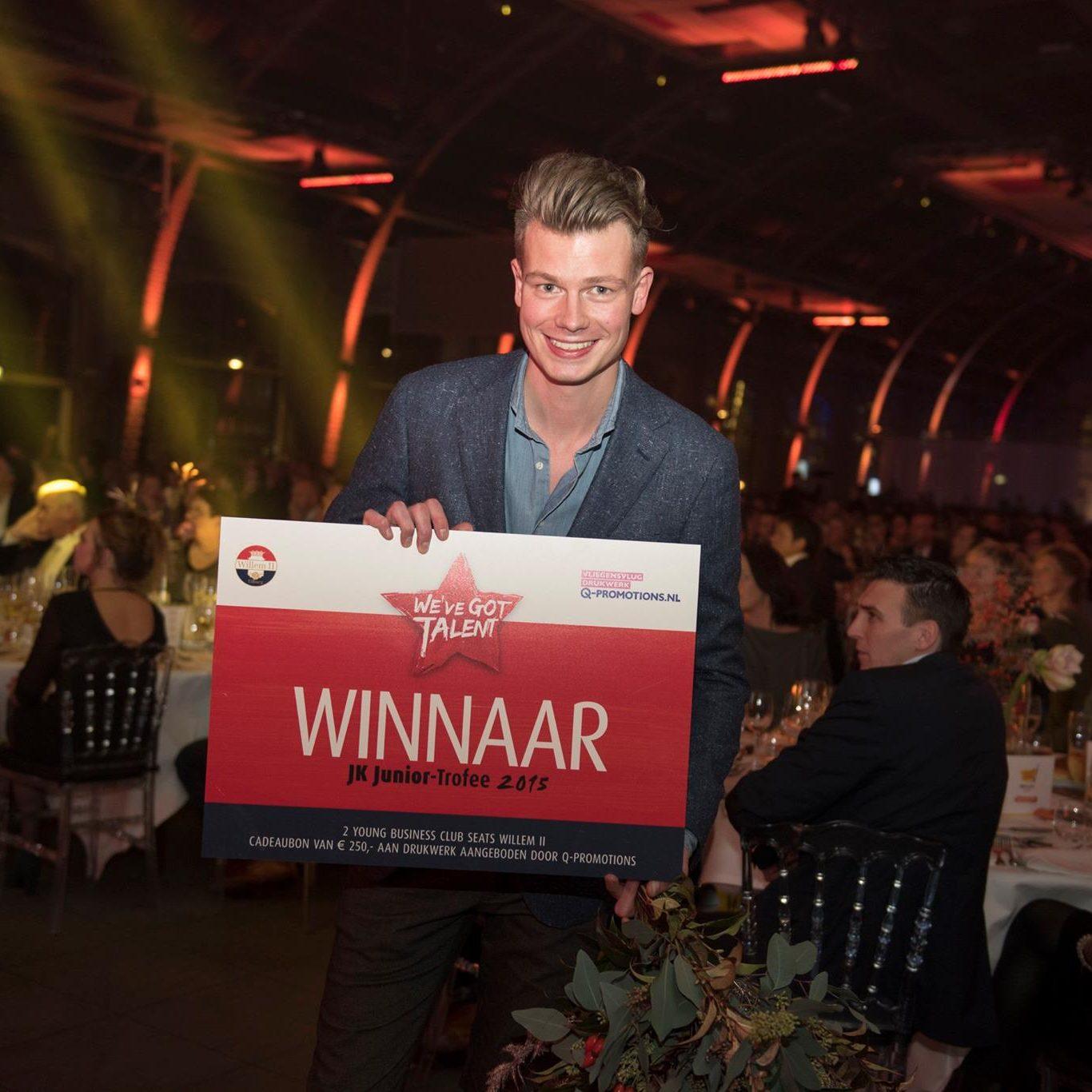 Houtloods winnaar Junior BOV Trofee 2015